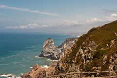 cabo falez da Portugal roca Obrazy Stock