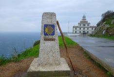 Cabo Finisterre Foto de Stock