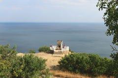 Cabo Fiolent del gazebo de Pushkin Imagen de archivo libre de regalías