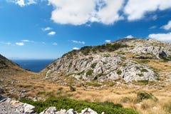 Cabo Formentor fotografia de stock