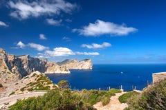 Cabo Formentor Fotografia de Stock Royalty Free