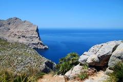 Cabo Formentor Foto de archivo libre de regalías