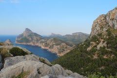 Cabo Formentor en Mallorca Foto de archivo