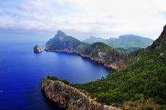 Cabo Formentor, Mallorca Fotografia Stock