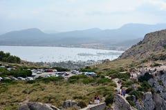 Cabo Formentor, Mallorca Fotos de archivo