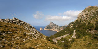 Cabo Formentor (Mallorca, Spain) Royalty Free Stock Image
