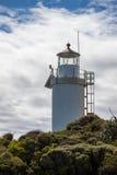 CABO FOULWIND, NUEVA ZELANDA - 14 DE FEBRERO: Vista del cabo Foulwind Fotos de archivo