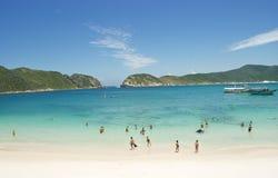 Cabo Frio, el Brasil imagen de archivo