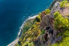 Cabo Girão Fotografia de Stock