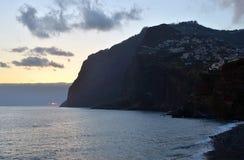 Cabo Girao, самая высокая скала в Европе, Мадейре, Португалии Стоковая Фотография RF