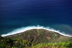 Cabo Girao cliff, Madeira. View from Cabo Girao cliff, Madeira island stock photography