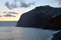 Cabo Girao, the highest cliff in Europe, Madeira, Portugal Royalty Free Stock Photography