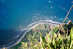 The Cabo Girao in Madeira Royalty Free Stock Photos