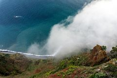 Cabo Girao, Madeira. Stock Images