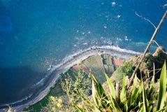 Cabo Girao in Madera Royalty-vrije Stock Foto's