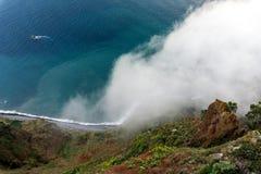 Cabo Girao, Madera Immagini Stock