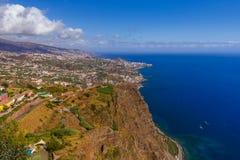 Cabo Girao viewpoint - Madeira Portugal Stock Photos