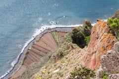 Cabo Girao Viewpoint Royalty Free Stock Photos