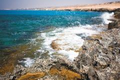 Cabo Greco ou Cavo Greco, Agia Napa Foto de Stock