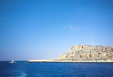 Cabo Greco ou Cavo Greco, Agia Napa Imagens de Stock Royalty Free