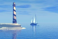 Cabo Hatteras Fotos de archivo libres de regalías