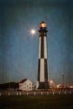 Cabo Henry Lighthouse Imagen de archivo