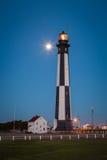 Cabo Henry Lighthouse Fotos de archivo libres de regalías