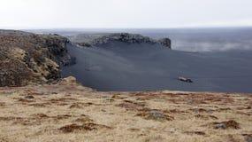 Cabo Ingolfshofdi Imagem de Stock Royalty Free