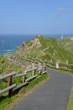 Cabo Kamui, Hokkaido, Japão Fotografia de Stock