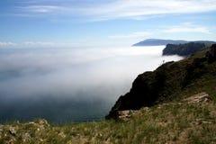 Cabo Khoboy en la isla de Olkhon, el lago Baikal, Rusia Imagen de archivo