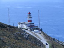 Cabo Ligthhouse de Silleiro foto de stock royalty free