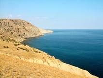 Cabo Meganom en Crimea Fotografía de archivo