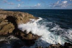 Cabo North Point na ilha de Barbados foto de stock