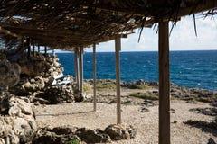 Cabo North Point na ilha de Barbados fotografia de stock royalty free