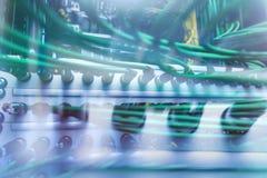 Cabo oaxial do ¡ de Ð para o servidor da transmissão de dados  Imagens de Stock Royalty Free