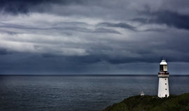 Cabo Otway Lightstation Fotos de Stock Royalty Free