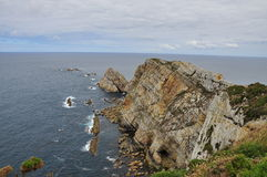 Cabo penas, Asturias, Spain Royalty Free Stock Photo
