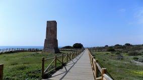CABO PINO - Torre-Andalucía-España-Europa Imagenes de archivo