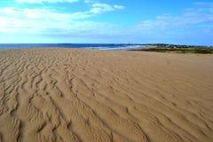 Cabo Polonio沙丘 免版税图库摄影