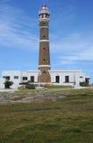 Cabo Polonio灯塔  免版税库存照片