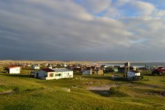 Cabo Polonio πανοραμικό Στοκ Φωτογραφίες