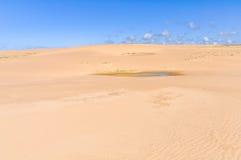 Песчанные дюны в Cabo Polonio, Уругвае Стоковое Изображение RF