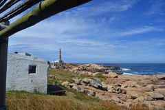 Cabo Polonio från det västra Royaltyfri Bild