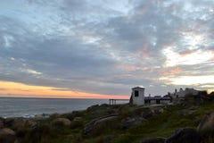 Cabo Polonio frihet Arkivbild