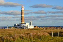 Cabo Polonio lighthouse Royalty Free Stock Photo