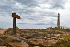 Cabo Polonio lighthouse Stock Photography
