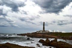 Cabo Polonio lighthouse Stock Photos