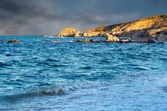 Cabo Pulmo Baja California national park panorama Stock Photography