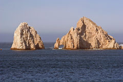 Cabo Rocks 04. Rocks off coast of Cabo San Lucas Royalty Free Stock Image