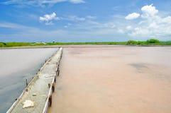 Cabo Rojo salt flats, Puerto Rico Stock Image